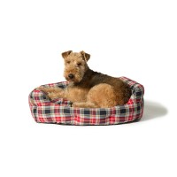 Danish Design Lumberjack Red/Grey Deluxe Slumber Bed